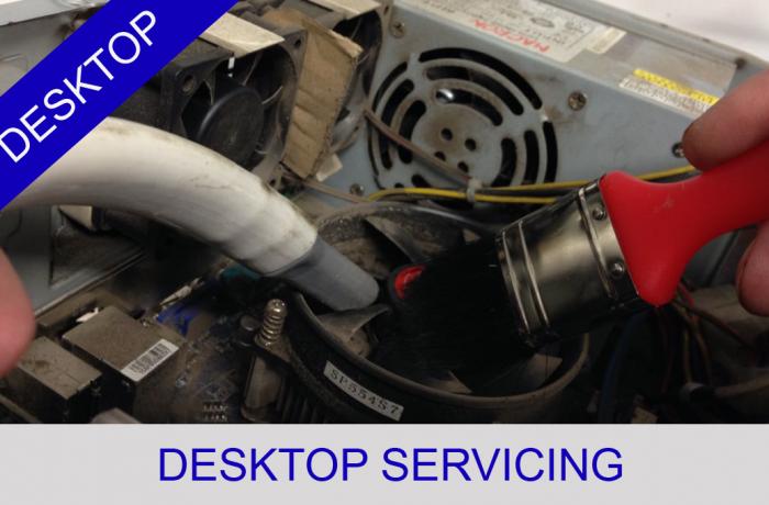 Desktop Servicing overheating repairs Doncaster